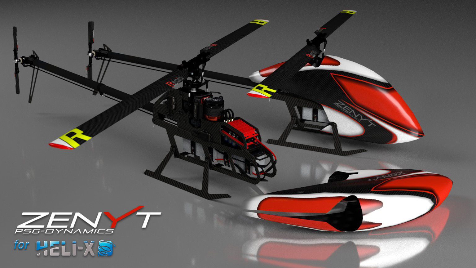 psg zenyt available for heli x. Black Bedroom Furniture Sets. Home Design Ideas