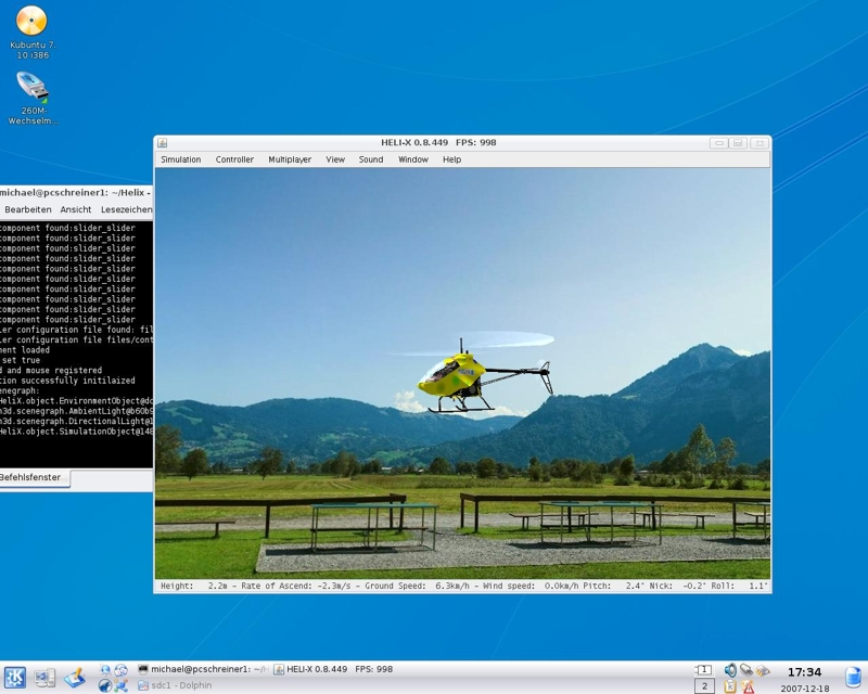 HELI-X on Linux