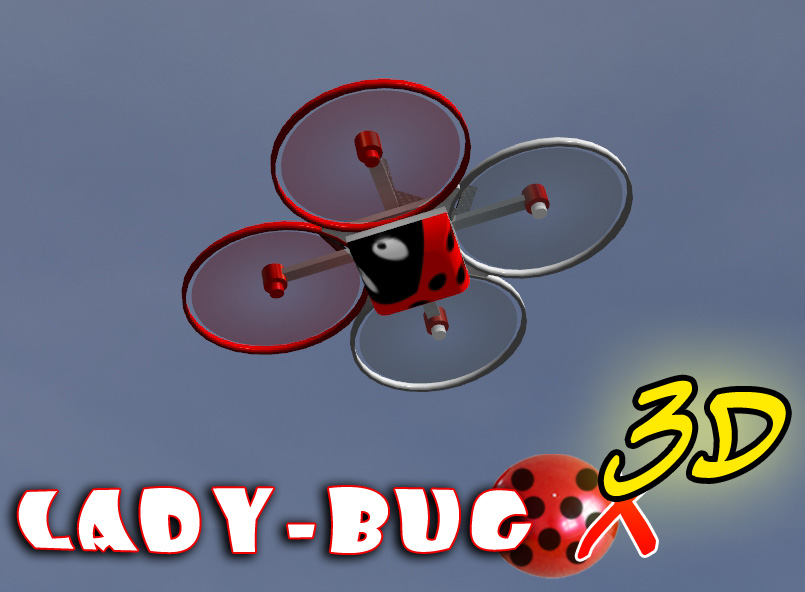 Lady-Bug-3D-X