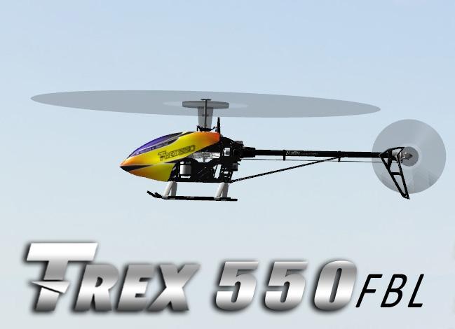 TRex550-FBL
