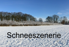 Schneeszenerie