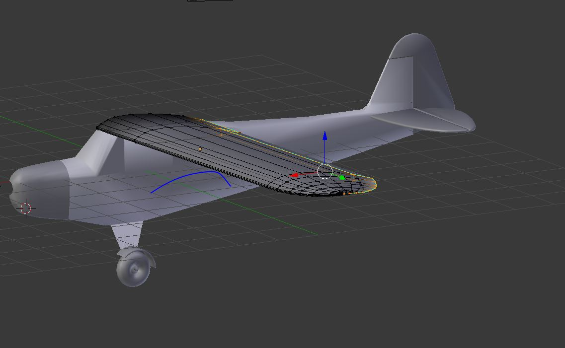 Working on a high-wing